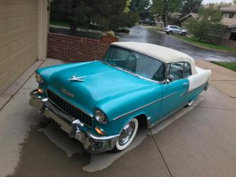 1955 Chevrolet Bel Air Convertible Best of Breed